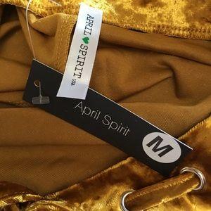 April Spirit Dresses - Velvet Dress